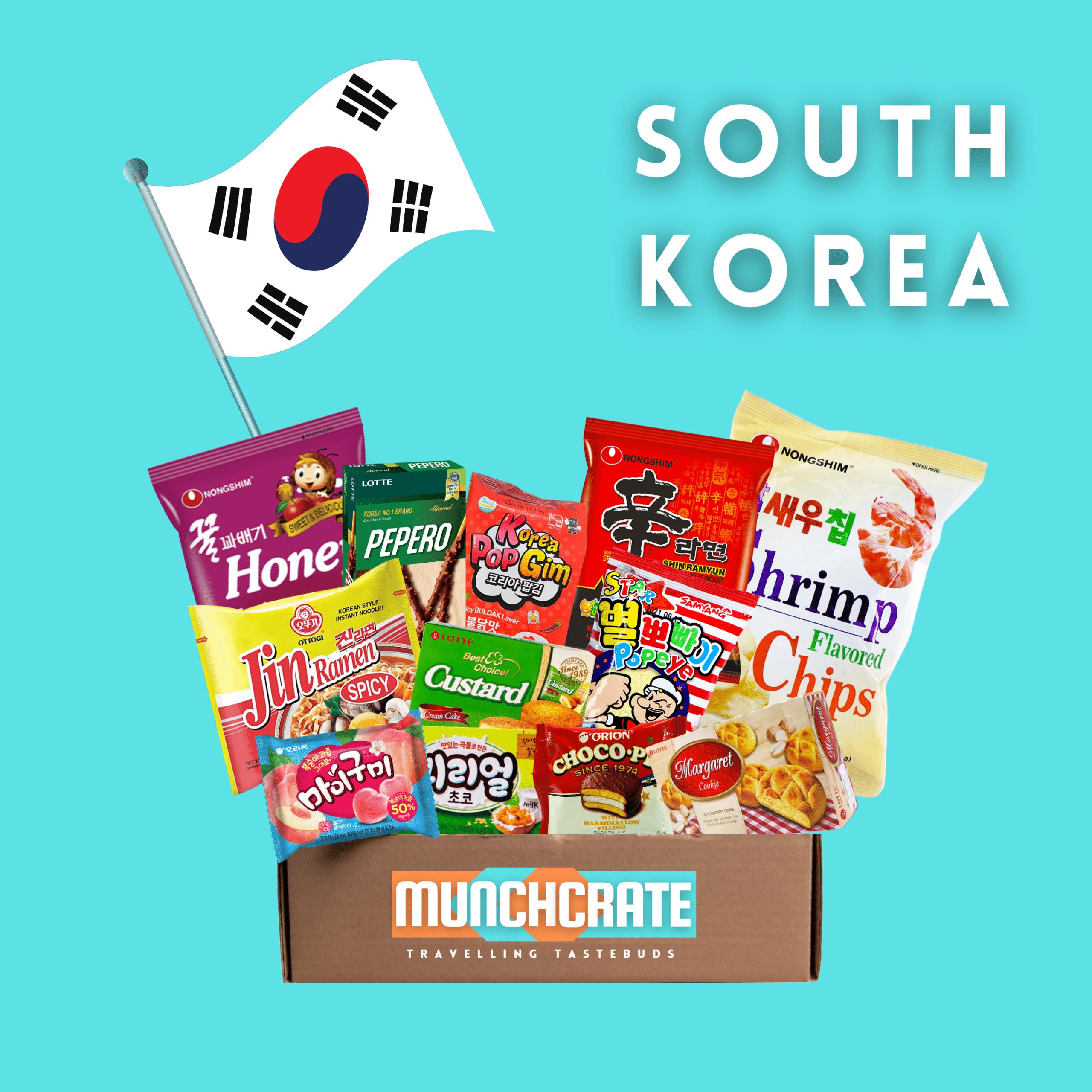 Munch Crate South Korea