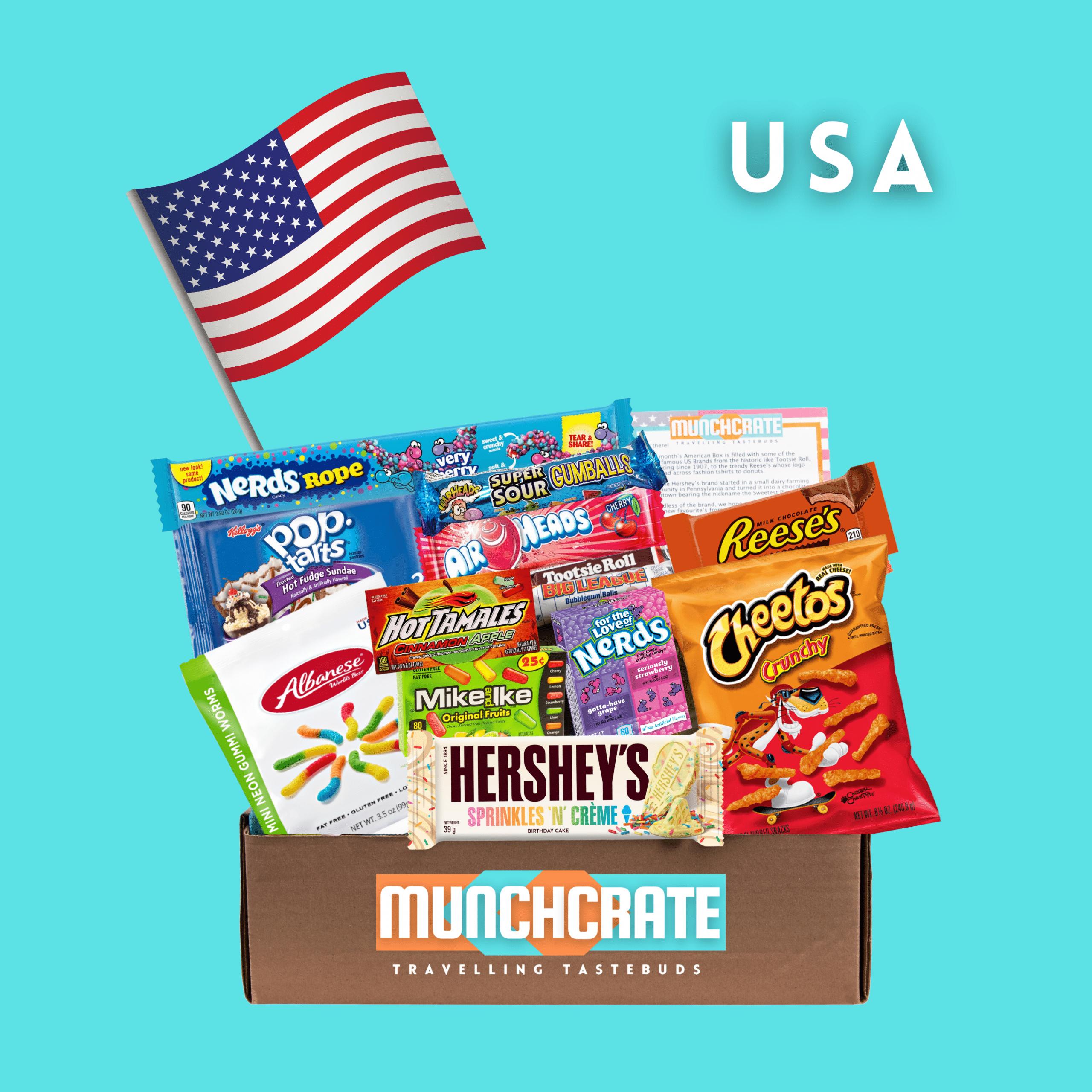 Munch Crate USA